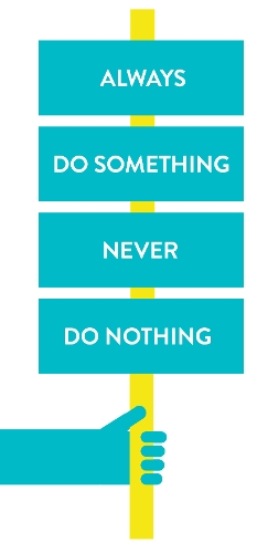 CFS graphic - 'Always do something, never do nothing'