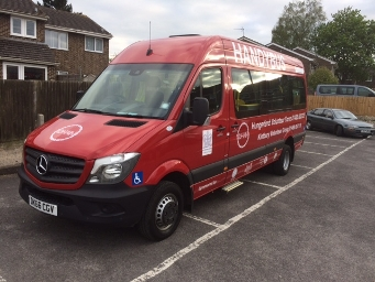 Image of a Handybus in West Berkshire