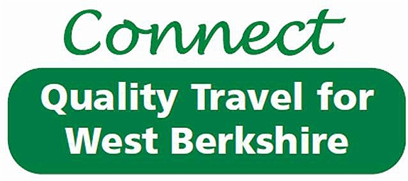 Connect bus travel logo