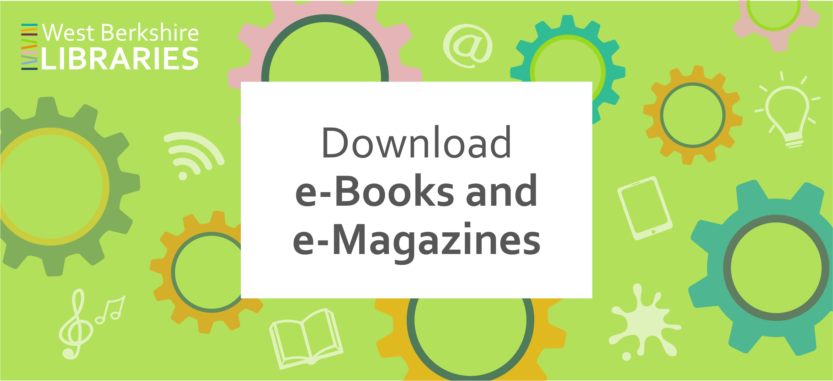 Go to e-Books, e-Audiobooks and e-Magazines