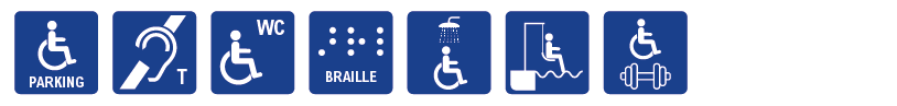 Hungerford Accessibility Icons