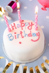 Children and Families Services Improvement Blog - picture of birthday cake with pink candles