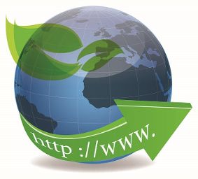 Image of globe with http://www. wrapped around it Displays a larger version of this image in a new browser window