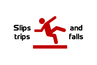 2019 GRAPHIC for Slips, trips and falls