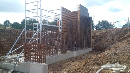 wk24 Floral Way - Inlet control structure