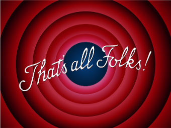That's All Folks curtains image