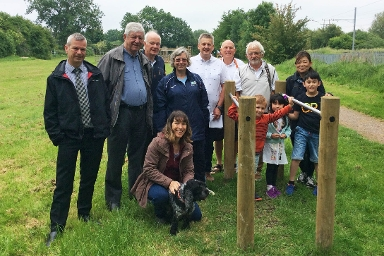 2018 Trim Trail at Linear Park, Official Opening Group Shot