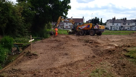 W9 Dunstan Green - Ditch backfill