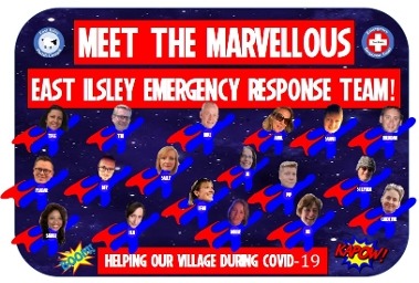 East Ilsley Superheroes Displays a larger version of this image in a new browser window