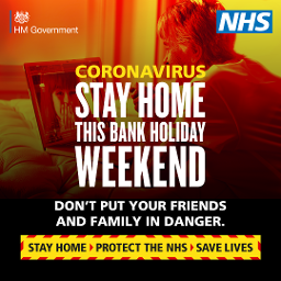 Coronavirus: Stay home this Easter bank holiday weekend