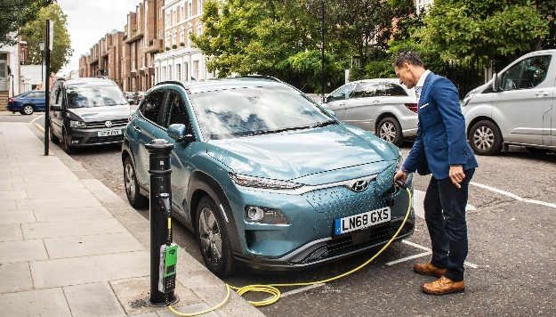 Image result for On street electric charge points UK