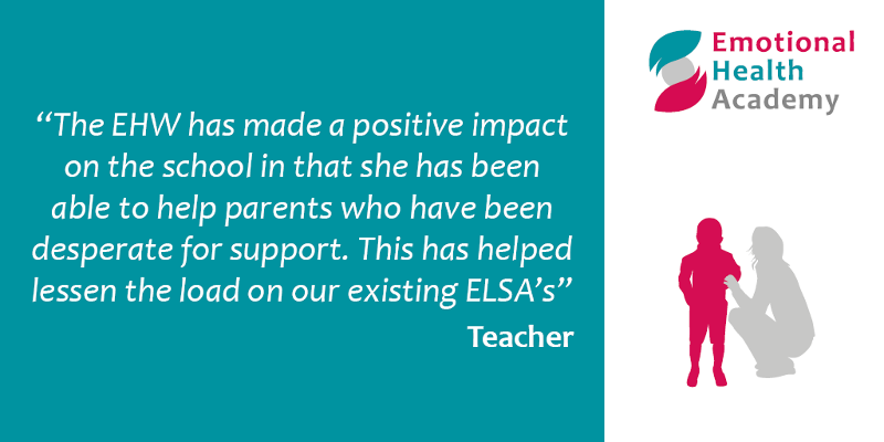 Emotional Health Academy - quote from a teacher about their experience