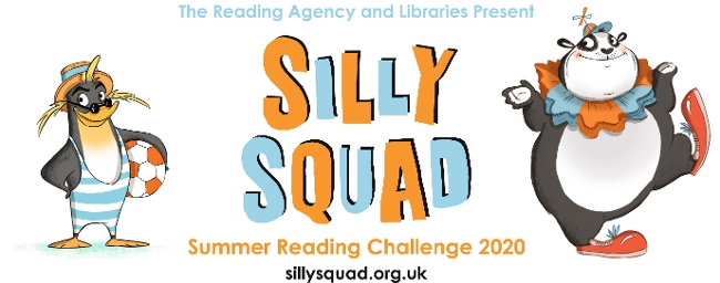 2020 Summer Reading Challenge Graphic