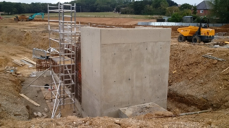 wk25 Floral Way - Inlet control structure