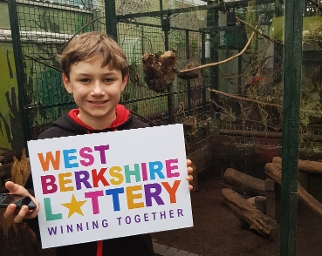 Alfie (12) enjoys a tour of the indoor glasshouse at the Living Rainforest