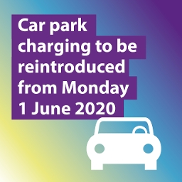 car parks charging from 1 June