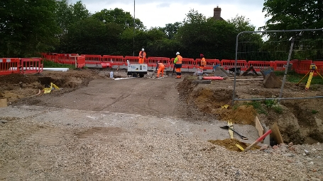 W8 Floral Way - Access Road Construction