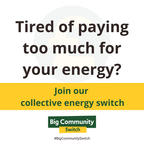 2021 Paying too much? Energy Switch Graphic
