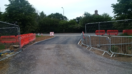 w10 Floral Way - New Access Road to the site