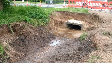 w10 Floral Way - Connection to existing culvert
