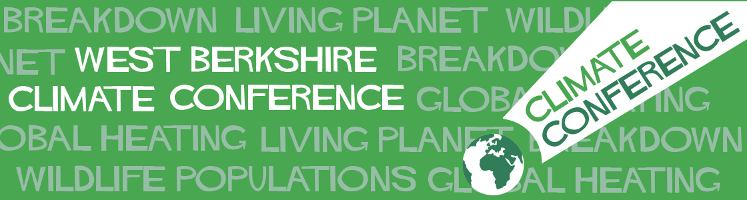 West Berkshire Climate Conference 2019 banner