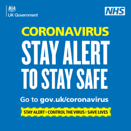 Coronavirus: stay alert to save lives graphic