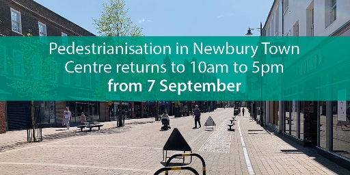 2020 - end of 24hr Newbury Town Centre pedestrianisation