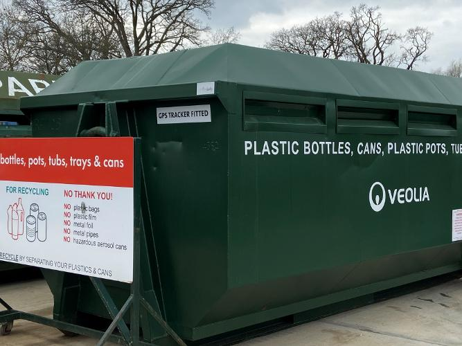 plastic recycling bins for 2021