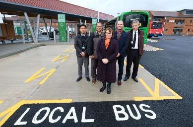 2018 - Newbury bus station open 2