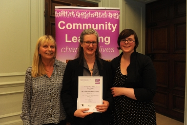 Chloe Charlett - Most Committed Volunteer to Learning Award