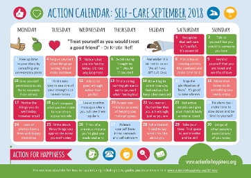 Action for Happines - September