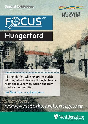 2021 Focus on Hungerford exhibition poster