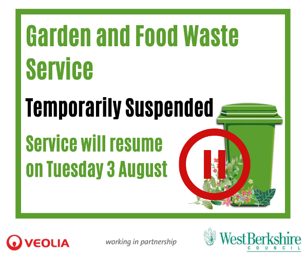2021 July Garden and Food Waste Temporarily Suspended