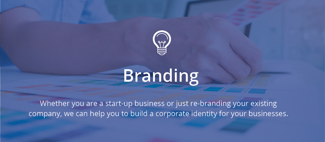 Go to See how we can help you with your branding
