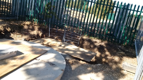 wk26 Kennet School - Drainage outflow