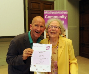 Older Learner Award: Gladys Morris, Newbury College Keeping Active Course at York House, Calcot