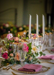 Shaw House Weddings - Close up of table