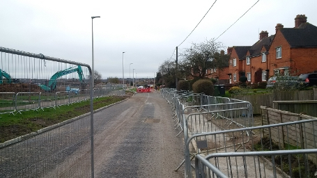 wk44-45 Dunstan Green - HHR South, lowering the carriageway