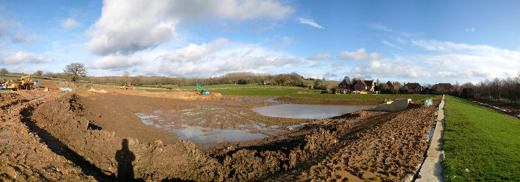 wk44-45 Floral Way - earthworks progress