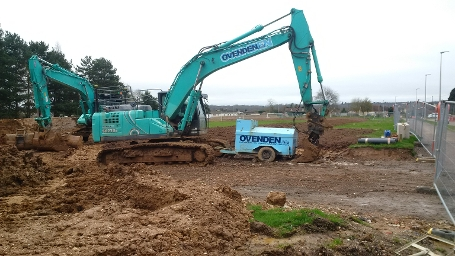wk44-45 Dunstan Green - Earthworks progress